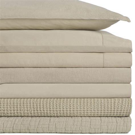 sateen queen flax linen sheet