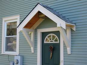 Bungalow Restoration Side Door Overhang Build Porch Roof Designs
