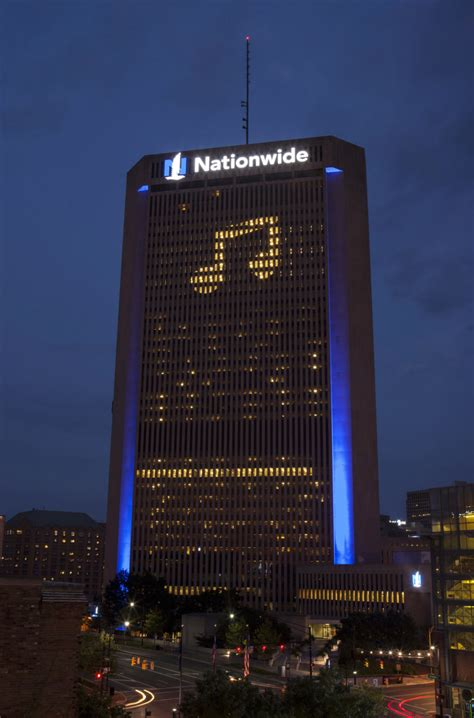 nationwide headquarters windows   statement   sky