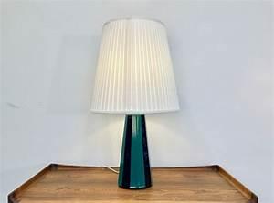 Grün Und Blau : gro e d nische vintage tischlampe in gr n und blau aus keramik von s holm bei pamono kaufen ~ Udekor.club Haus und Dekorationen