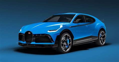 Bugatti Teases Urus-Based 1,000 HP Crossover Concept