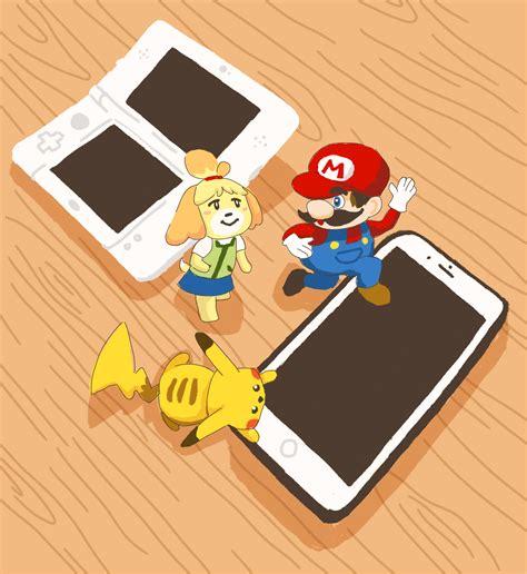 gamers guidebook mobile adaptations  nintendo games