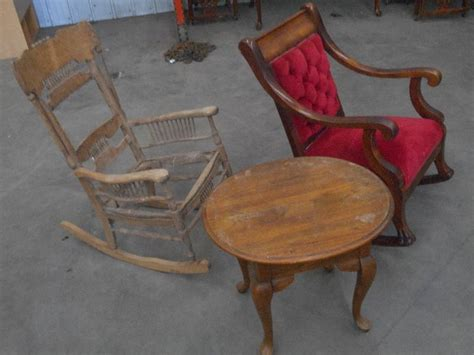 Tractor Supply Wooden Rocking Chairs by 2 Vintage Wooden Rocking Chairs Loretto Equipment