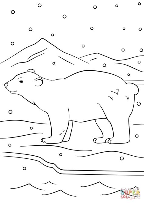 Christmas Scene Coloring Pages Printable
