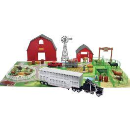 Boot Barn Bismarck by New Toys 1 43 Cattle Ranch Set With Truck Barn Ss