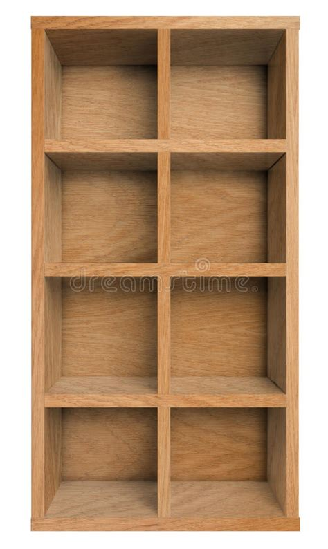 empty wooden shelf  bookshelf  white wall stock image image  wallpaper template