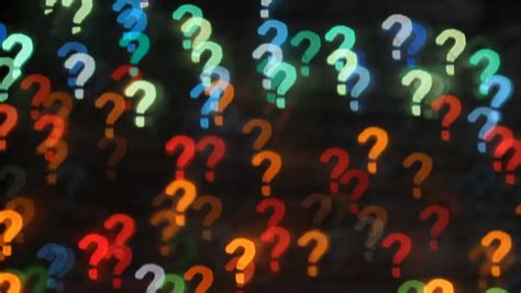 question marks episode  stock footage video