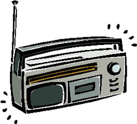 Radio Clipart Clip Clip Radio 709429