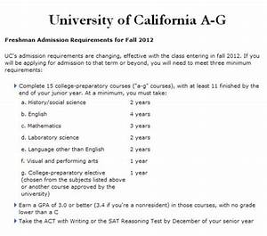 college university requirements for college university With college requirements