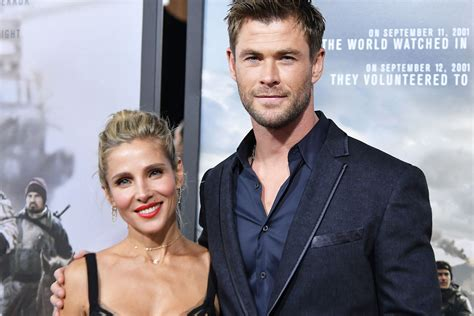 chris hemsworth  elsa pataky share secret