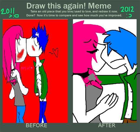 Draw This Again Meme Fail - draw this again meme by xxneon slushiexx on deviantart
