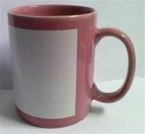 gelas cangkir mug keramik pabrik mug coated warna cangkir muk coating mug polos