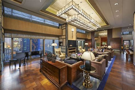shanghai accommodation presidential suite mandarin oriental shanghai