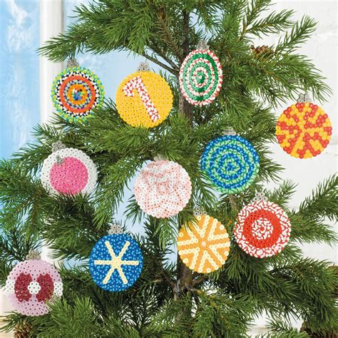 Weihnachtsdeko Noch Mehr Christbaumkugeln by Christbaumkugeln Aus B 252 Gelperlen Idee Mit Anleitung
