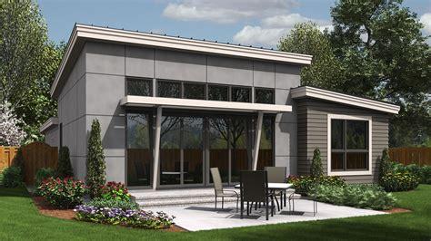 Contemporary House Plan 1164es The Park Place