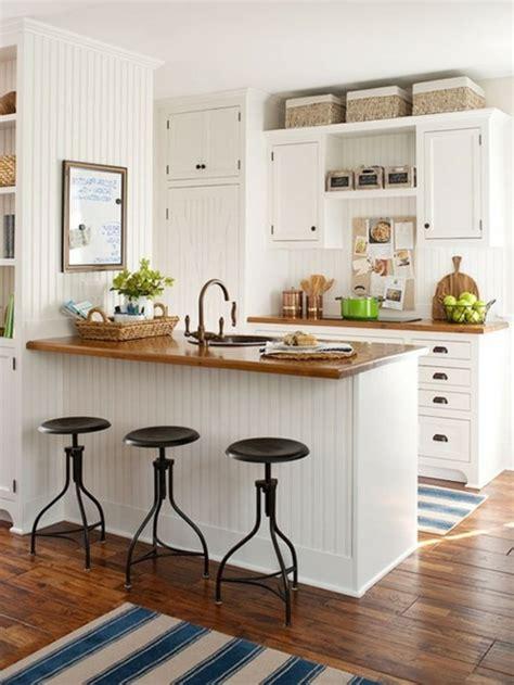 bar cuisine design le tabouret de bar industriel apporte une touche déco dans