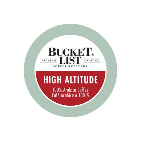 Coffee shop in london, united kingdom. Bucket List Coffee High Altitude Single Serve Pods (Box of 24) - Home Coffee Solutions