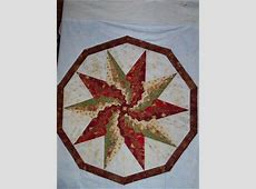 Stargello10 point star for christmas table