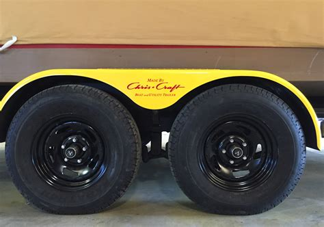 Wheels On Boat Trailer by Classicing A New Boat Trailer We Actually Did It
