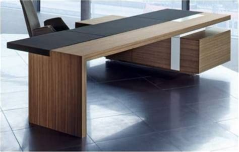 wood desk design 43 cool creative desk designs digsdigs