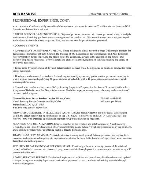 federal style resume pdf free federal resume