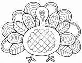 Cornucopia Coloring Pages Turkey Printable sketch template