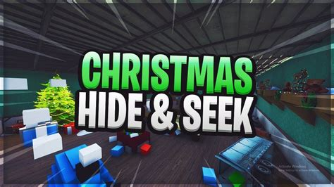 christmas hide  seek map fortnite creative mode