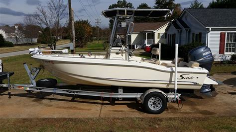 2007 Scout 187 Sf Greenville, Sc ***sold***  The Hull