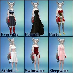 NG Sims 3: Demon Fox Gina - TS4 Sims