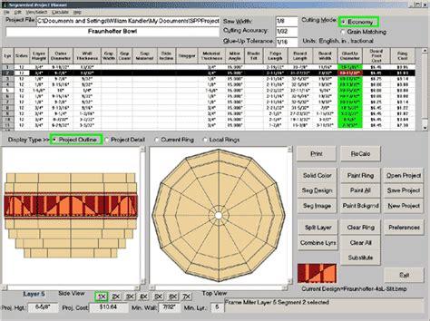 segmented woodturning templates plans diy