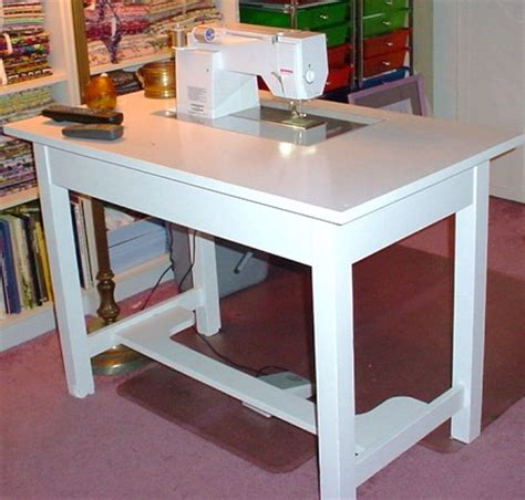 sewing machine desk ideas busy bee no 16 make your own sewing machine cabinet table