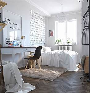 modernist-scandinavian-bedroom-design - TheyDesign net