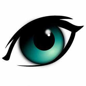 Blue Cartoon Eye Clip Art at Clker.com - vector clip art ...