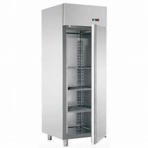 Frigo 1 Porte Gris : armoire frigo inox de stockage 1 porte 700 l ~ Melissatoandfro.com Idées de Décoration