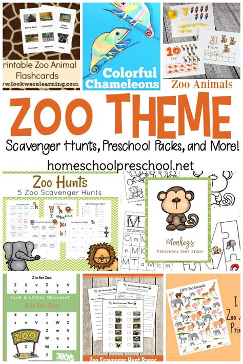 25 engaging zoo preschool theme printables and activities 995 | 8a4e74ddb7a4bcc6c0cef7b789670c9f