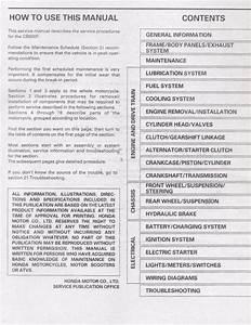 1998 Honda Cb600f Motocycle Service Repair Workshop Manual
