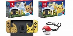 Nintendo Switch 39Pokemon Let39s Go39 Pikachu And Eevee