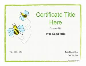 certificate street free award certificate templates no With certificate street templates blank