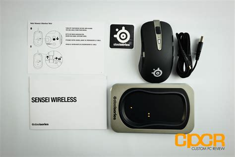 Review Steelseries Sensei Wireless Gaming Mouse Custom
