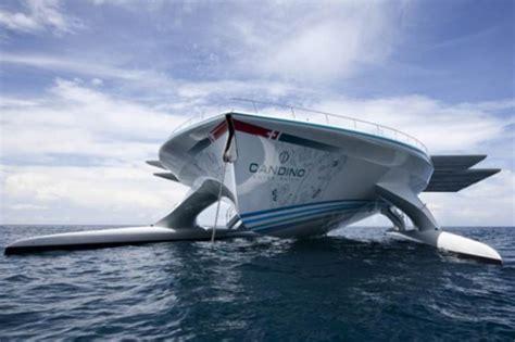 Catamaran Rapido Barcelona Mallorca by Elbarco Solar M 225 S Grande Del Mundo Zarpa Hoy De Barcelona