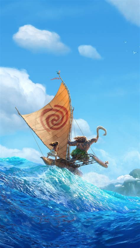 Disney Wallpaper Iphone X by Disney Moana 2016 Animation Wallpapers Hd Wallpapers