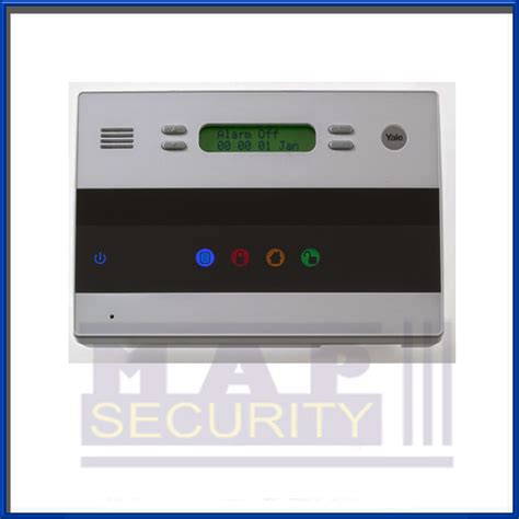 yale easy fit telecommunicating alarm main control panel