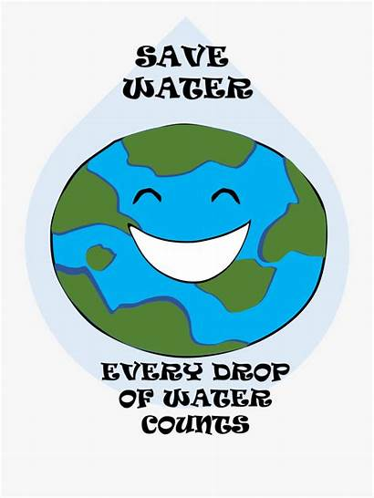 Water Easy Conservation Clipart Poster Cartoon Google