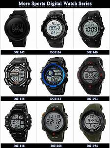 Skmei Digital Hand Watch For Man S-shock Watch Instructions