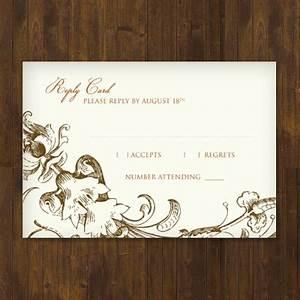 fall harvest wedding rsvp template download print With wedding rsvp cards free download