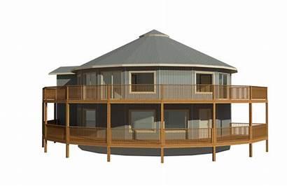Sqft Floorplan Example Round Homes 2992 Story