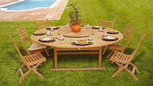 Table En Teck Jardin : tables de jardin mati re avantages et inconv nients ~ Melissatoandfro.com Idées de Décoration