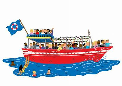 Boat Clipart Cruise Ride Boating Clip Illustrations
