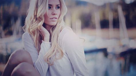 Beauty Blonde Girl Model Photo Wallpaper 1920x1080 18803