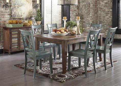 ashley mestler dining table   chairs  sideboard